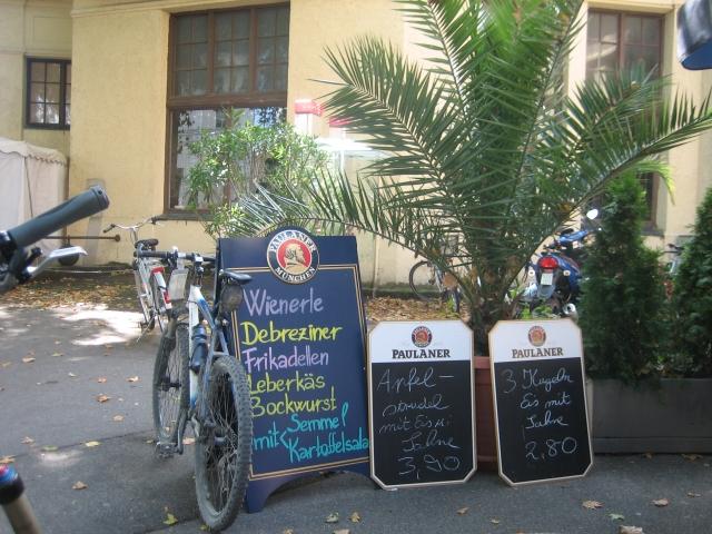 Lindau am Bodensee: Mahlzeit und »Welcome to Germany!« :-(