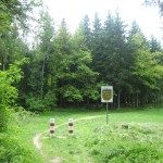 Grüne Grenze bei Hinterhermsdorf