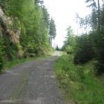 Radroute im Nationalpark Böhmische Schweiz