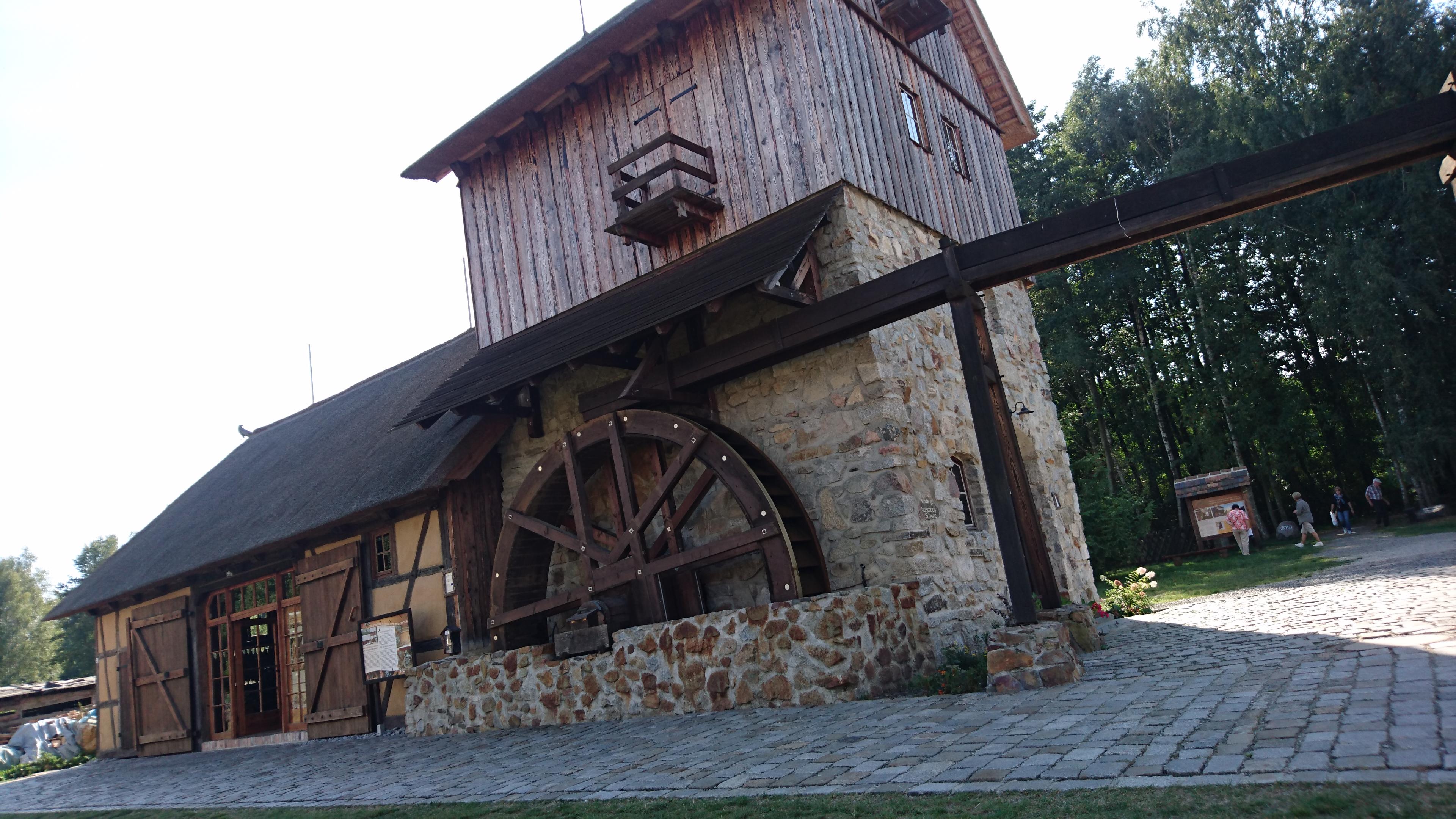 Krabat-Mühle Schwarzkollm, obersorbisch Krabatowy młyn Čorny Chołmc