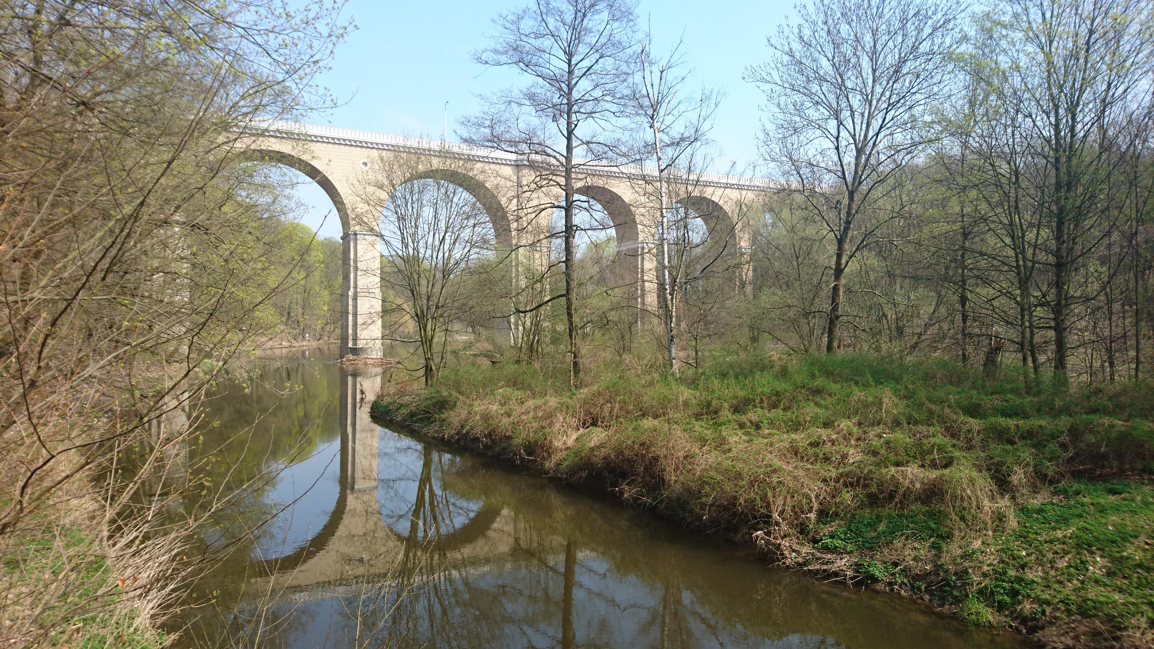 Görlitz: Neiße-Viadukt.