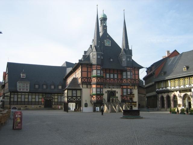 Wernigerode, Marktplatz und Rathaus