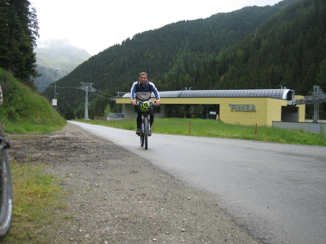 Ischgl: Mittelstation der Fimba-Seilbahn